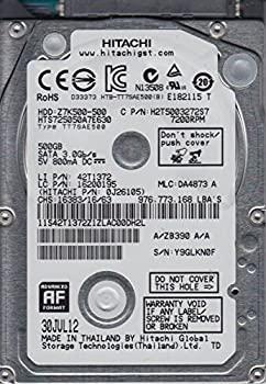 【中古】hts725050?a7e630、PN 0j26105、MLC da4873、Hitachi 500?GB SATA 2.5ハードドライブ