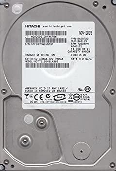 【中古】hdt721064sla360、PN 0?a38720、MLC ba3115、Hitachi 640?GB SATA 3.5ハードドライブ