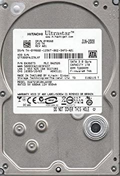 【中古】hua721010kla330、PN 0?a36073、MLC ba2526、Hitachi 1tb SATA 3.5ハードドライブ