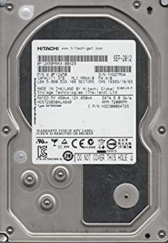 【中古】HDS723030ALA640、PN 0F12450、MLC MRKA10、Hitachi 3TB SATA 3.5 ハードドライブ