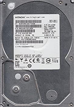 【中古】hds723020bla642、PN 0?F14390、MLC mnr5q0、Hitachi 2tb SATA 3.5ハードドライブ