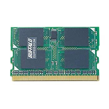 パソコン・周辺機器, その他 BUFFALO D2P533-512M DDR2 SDRAM 172Pin MicroDIMM