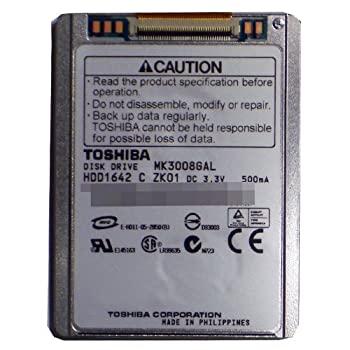 パソコン・周辺機器, その他 30GB TOSHIBA ZIF 1.8 4200RPM IPOD HARD DRIVE MK3008GAL HDD1642