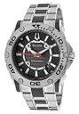 【中古】[ブローバ]Bulova 腕時計 96B156 Precisionist Black Dial Stainless Steel and Black Carbon Fiber メンズ [並行輸入品]