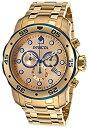 【中古】[インビクタ]Invicta 腕時計 80069 Pro Diver Chrono18k Gold Plated Steel Gold-Tone Dial メンズ [並行輸入品]