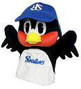 【中古】東京ヤクルトスワローズ オフィシャルグッズ つば九郎ハンドパペット ぬいぐるみ 高さ25cm