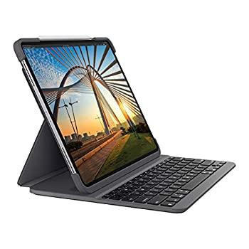 【中古】ロジクール iPad Pro 11 インチ 第1世代 第2世代 対応 Bluetooth キーボード 英語配列 薄型 ケース 一体型 iK1174A バックライト付 国内正規品