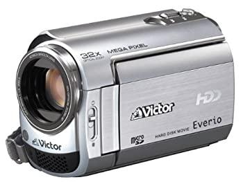 【中古】Victor Everio GZ-MG220-S HDD 30GBハードディスクムービー プレシャスシルバー