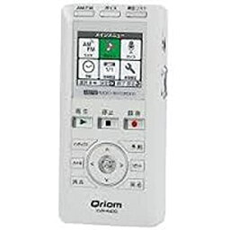 【中古】キュリオム ラジオボイスレコーダー ホワイト YVR-R400(W)