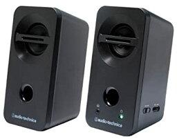 【中古】audio-technica デスクトップスピーカー ブラック AT-SP93 BK