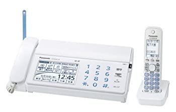 【中古】パナソニック おたっくす デジタルコードレスFAX 子機1台付き ホワイト KX-PD702DL-W