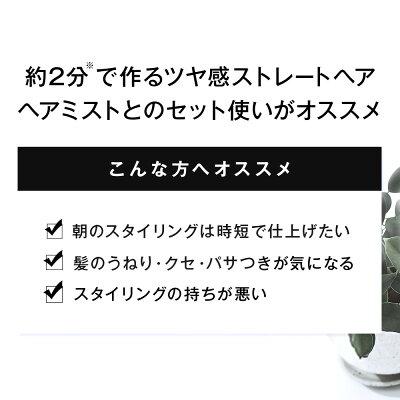 \最大ポイント19倍&最大1,000円OFFクーポン配布中/SALONIAストレートヒートブラシブラック