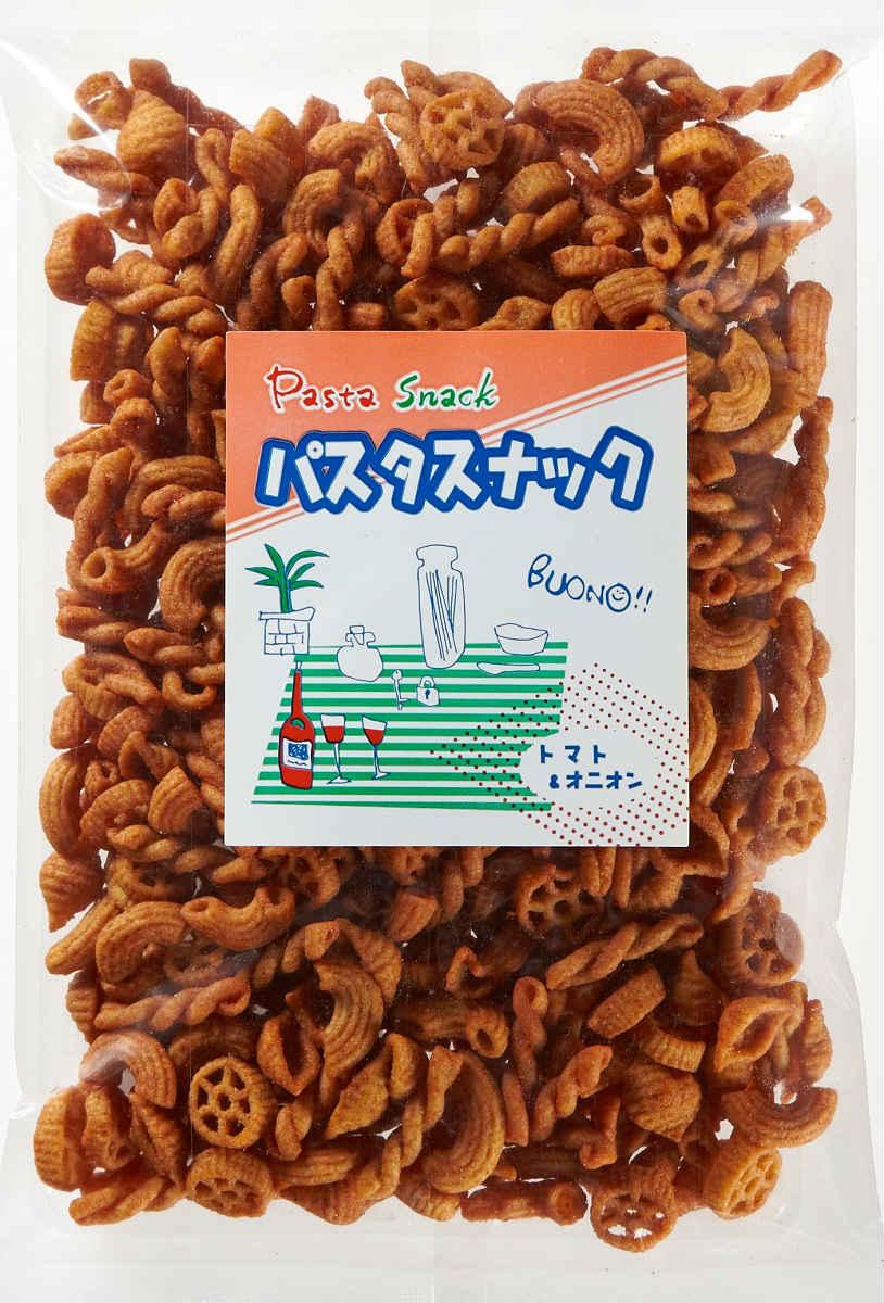 お徳用!自家製フライドパスタ「パスタスナック・トマト&オニオン(205g)」【ヨコノ食品】