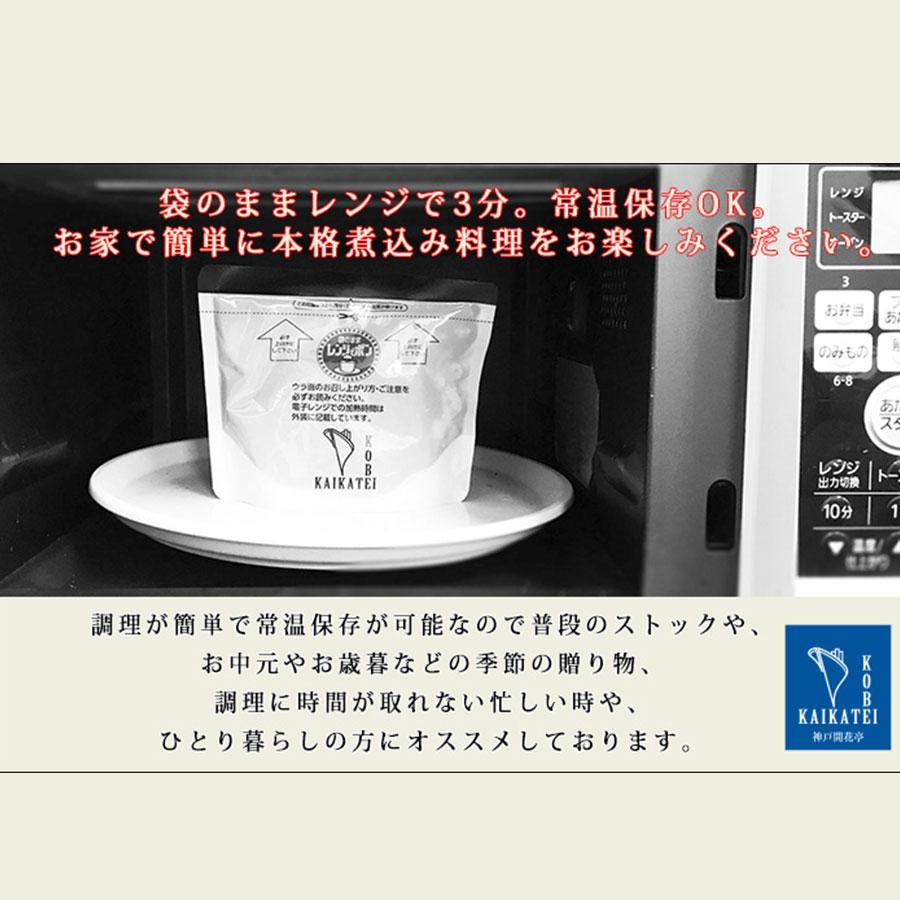 煮込みハンバーグてりやきソース 1人前190g《のし掛け・ギフト包装不可》レトルト 常温保存 おかず ハンバーグ 洋風料理
