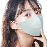 究極の息ラクシルクールマスク接触冷感春夏4層構造おしゃれシルク絹立体型マスク調節可能軽い息が楽冷感マスク