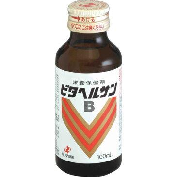 ゼリア新薬工業株式会社 ビタヘルサンB 100ml×50本セット【医薬部外品】<コンドロイチン硫酸、ビタミンB1、B2、B6や塩化カルニチン、カフェインを配合>