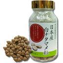 【ポイント13倍相当】薬草の森 はくすい薬局白ナタマメ100%『日本産 白ナタマメ粒 100g(約400粒)』