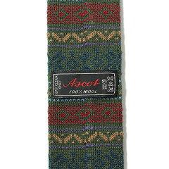 Ascot Wool Knit Tie