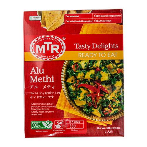 惣菜, カレー MTR Alu Methi 300g 12 ,