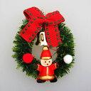 ミニミニクリスマスリースバッジサ...