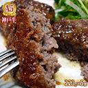 神戸牛の手切りミンチのハンバーグステーキ220g×5個入り【冷凍発送限定】