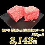 神戸牛厚みたっぷり赤身ステーキ200g×2個【RCP】