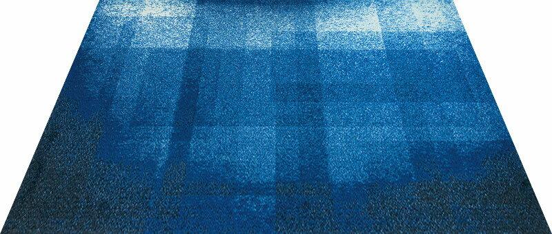 Office & Decor Depth_テ゛フ゜ス 145 x 200  cm玄関マット 屋内 室内 自然  Office&Decor オフィスマット ナチュラル エレガント 70種類 日本製 洗える グラデーション:神戸ロングテール
