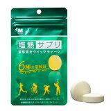 【ネコポス対象商品】ミドリ安全 塩熱サプリ(24粒)