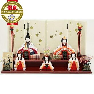 中國娃娃緊湊娃娃 kimekomi 娃娃飾品喜歡小雞這 Hina 春日櫻花娃娃車間天堂,原始的刺繡設計 (老師傅,節日 / 節日,娃娃,娃娃 / 娃娃 & 寶石裝飾) 娃娃方形 P08Apr16