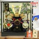 五月人形 ケース飾り コンパクト 兜飾りコンパクト 子供の日 兜 端午の節句 兜 ケース 五月人形  ...