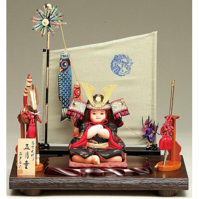 真多呂作-武者人形-鍾馗