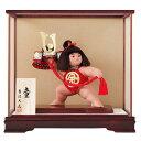 金太郎 端午の節句 兜 五月人形 ケース飾り コンパクト 兜飾りコンパクト 子供の日 兜 ケース 五 ...