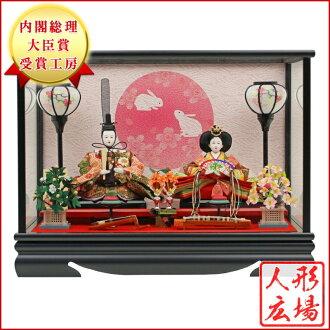 偶人情况裝飾雛娃娃情况裝飾12單雛琴音八音盒在的兩個人偶人廣場P08Apr16