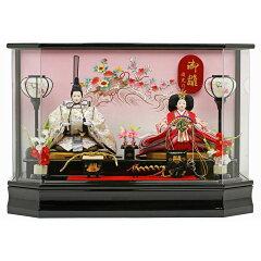 雛人形 ひな人形 ケース飾り 十二単雛 親王飾り 限定オリジナル雛人形 ひな人形 ケース飾り 十...