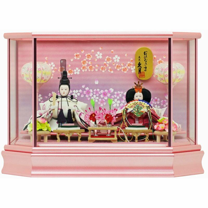 久月×人形工房天祥 コラボ限定オリジナルひな人形 「久月 ひな人形 雛人形 ケース飾り 親王飾り 十二単雛 ケース入り」