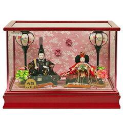雛人形 ひな人形 人形の久月 久月 限定オリジナル ケース飾り 親王飾り 衣装着ひな人形 衣装…