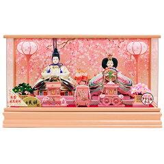 雛人形 ひな人形 人形工房天祥 限定オリジナル ケース飾り 親王飾り ぷり姫シリ…