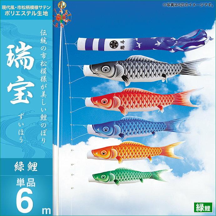 瑞宝-緑鯉6m・単品
