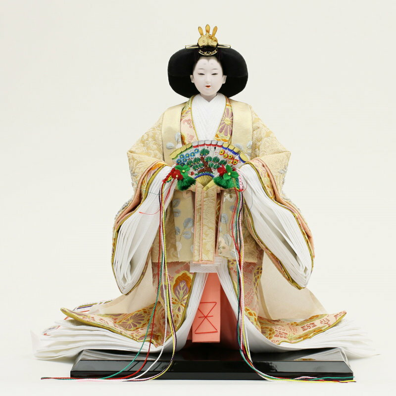 Doll doll popularity young bird Yoshinori Taiko children's standing doll  ceremonial dress young bird doll Imperial prince decoration Dolls' Festival