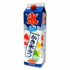 蜜元 みつもと 氷みつ【かき氷シロップ いちご イチゴ】1.8リットル☆業務用サイズ氷蜜☆1.8l