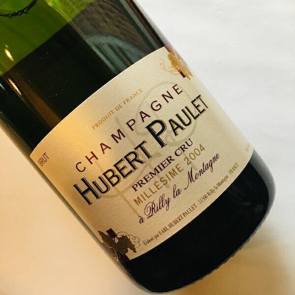 ワイン, スパークリングワイン・シャンパン  Hubert Paulet 1er Cru Rilly la Montagne Brut MillesimeNo.93511