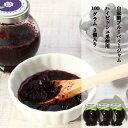 ブルーベリー 加工品 ブルーベリージャム ハイビッシュ系使用 完熟ブルーベリー使用 果肉たっぷり 自家製 手作りBLUEBERRY JAM 3個セット (1個100g)