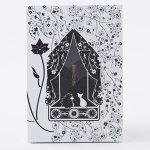 【御朱印帳】黒猫&ハリネズミwithCoLoR