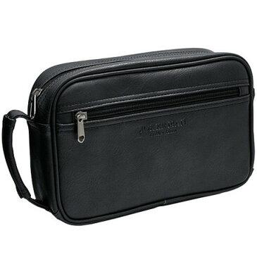 セカンドバッグ メンズ 合成皮革 鞄 シボ ブランド おしゃれ 黒 ブラック MKC-01 JOKERMAN 正規品 安心保障 送料無料