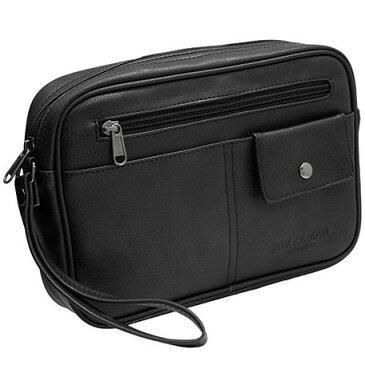 セカンドバッグ メンズ 合成皮革 鞄 黒 ブラック 茶 ブラウン ブランド シボ おしゃれ アンティーク シンプル MKC-02 JOKERMAN 正規品 安心保障 セカンドバック