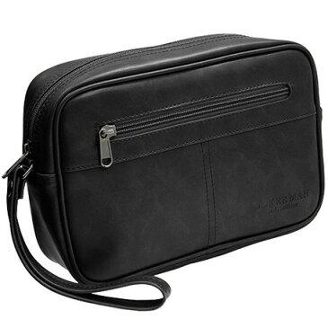 セカンドバッグ メンズ 合成皮革 鞄 黒 ブラック 茶 ブラウン ブランド おしゃれ アンティーク シンプル MKC-04 JOKERMAN 正規品 安心保障 セカンドバック
