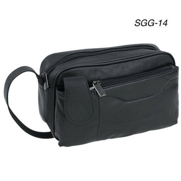 セカンドバッグ メンズ 鞄 黒 ブラック ブランド おしゃれ スムース SGG-14 正規品 安心保障 セカンドバック ビジネス 合成皮革