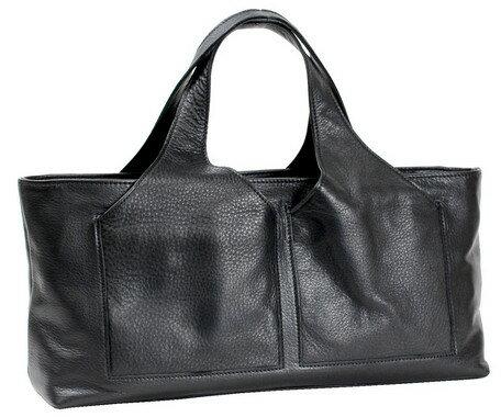 ブランドバッグ レディース ハンドバッグ ブランド 本革 牛革 横長 おしゃれ 日本製 正規品 安心保障 黒 ブラック 可愛い かわいい