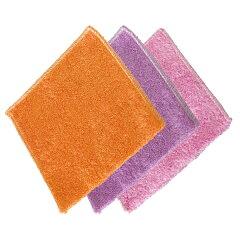キッチンクリーナー キッチンクロス ふきん 台拭き 洗剤不要 竹繊維クロス3色組