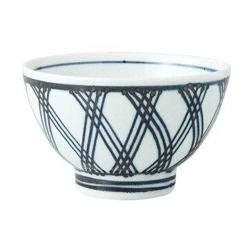 食器 器 碗 茶碗 セット 3客組 おしゃれ 可愛い くらわんか 波佐見焼 磁器 日本製あじろ くらわんか碗 (青) 3客組 13866